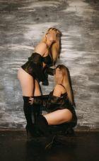 Сестрёнки , рост: 170, вес: 59 - госпожа БДСМ, закажите онлайн